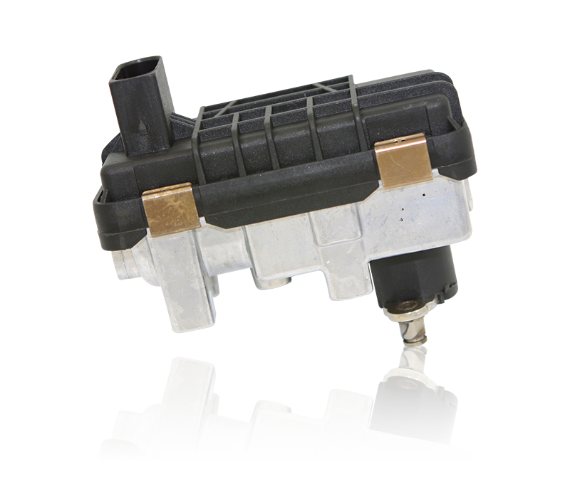 The electronic turbo actuator is a key component of a turbo charged system